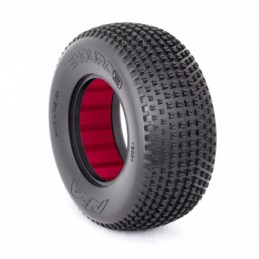 GOMME SHORT COURSE 1:10 ENDURO 3 LARGE SOFT (2) CON INSERTI