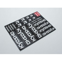 DECALS - KYOSHO TEAM DRIVER
