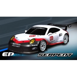 SERPENT COBRA GT-E LW1/8 RACE ROLLER WITHOUT ELECTRONIC + LWB BODY