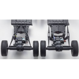 Kyosho Outlaw Rampage Pro 1:10 RC EP Readyset - T1 Rosso