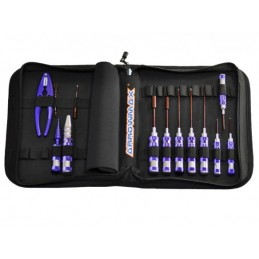 AM TOOLSET FOR 1:10 OFFROAD (13PCS) WITH TOOLS BAG
