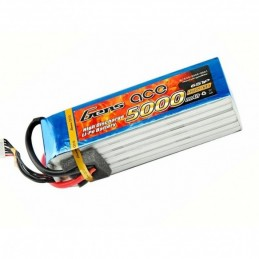 Gens ace Batteria 6S 22.2V-5000-45C (EC5) 162x45.5x42.5mm 780g