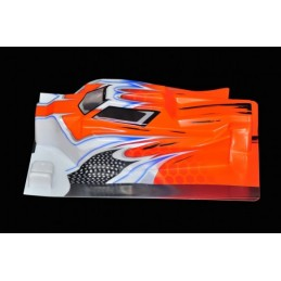 BODY 1/8 BUGGY E-AVENGER ORANGE