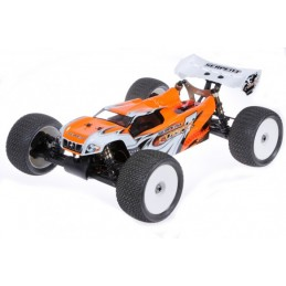 BODY 1/8 TRUGGY BRUSHLESS ORANGE