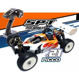 SERPENT COBRA BUGGY B-GP 1/8 RTR+PICCO REBEL .21